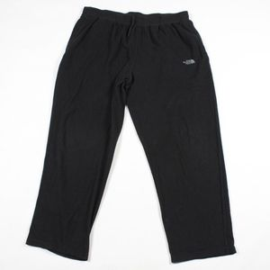 The North Face Spell Out Fleece Pants Black XL